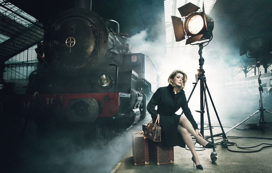 Louis Vuitton Journeys - Catherine Deneuve - Annie Leibovitz