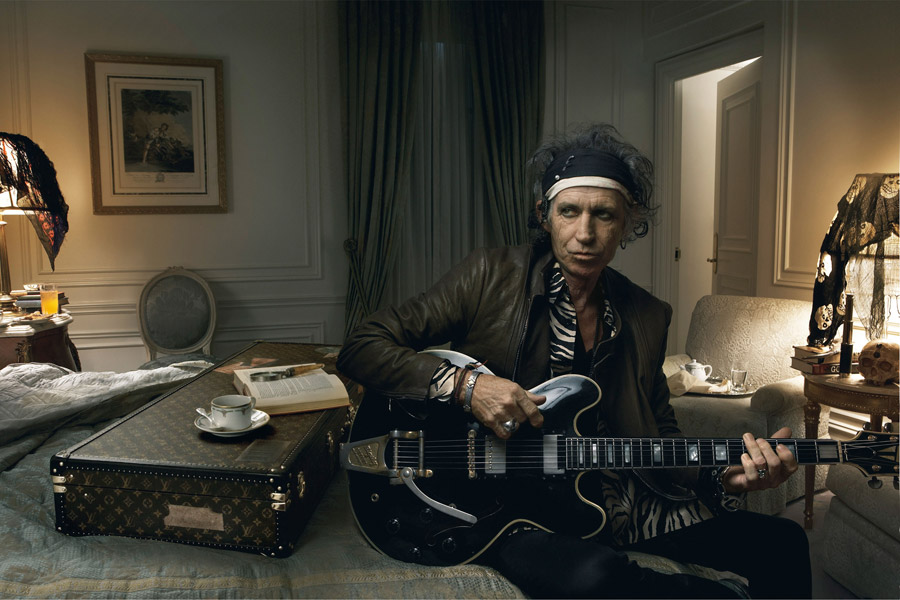Louis Vuitton Journeys - Keith Richards - Annie Leibovitz