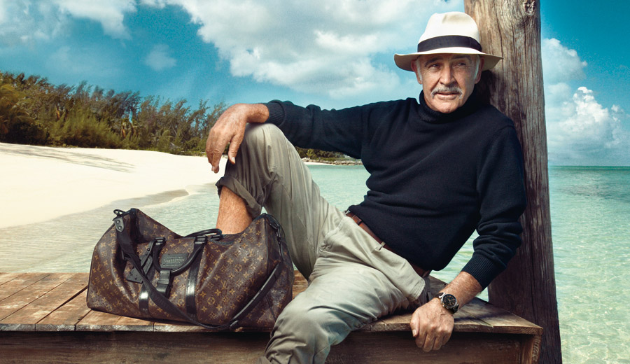 Louis Vuitton Journeys - Sean Connery - Annie Leibovitz